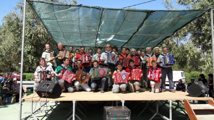 """Fotografias do I Festival Anual de tocadores de Concertinas """"Carlos Nejo""""."""