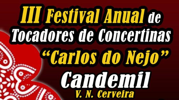 """III Festival Anual de Tocadores de Concertinas """"Carlos Nejo"""""""